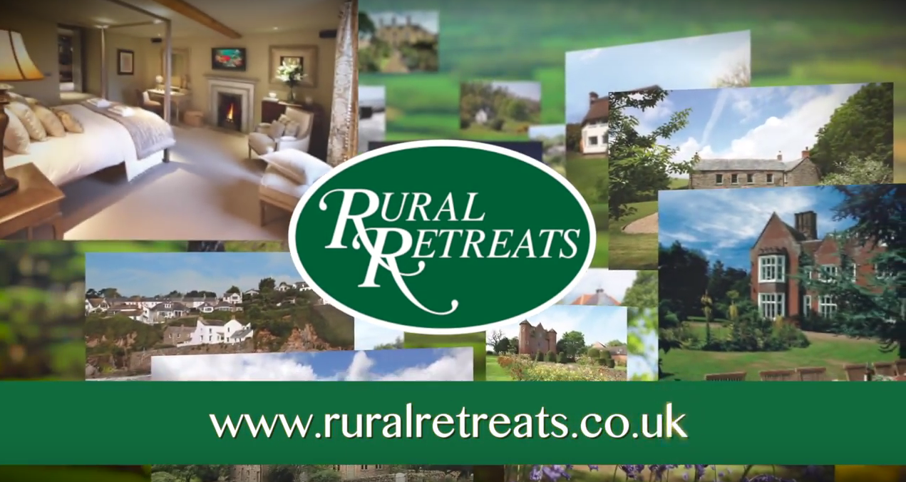 Screen grab from Rural Retreats T.V Advert